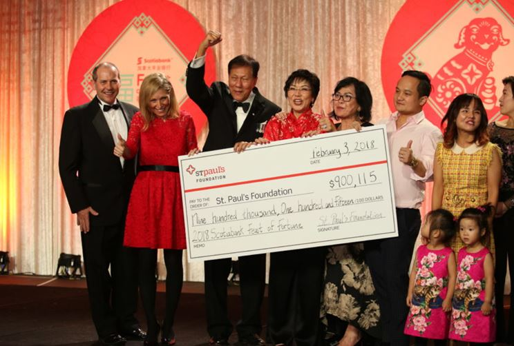 Feast of Fortune gala raises $900,000 for Vancouver's Mount Saint Joseph Hospital